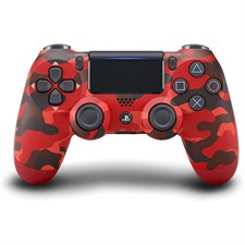 Sony DualShock PlayStation 4 Wireless Controller, Red Camouflage