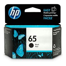 HP 65 Black Original Ink Cartridge, N9K02AN#140