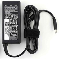 Dell Genuine Laptop Adapter Charger 19.5V 3.34A 65W - Original - Small Pin