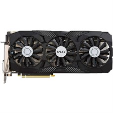 MSI Gaming GeForce GTX 1080 8GB GDDR5X VR Ready Graphics Card - GTX 1080 DUKE 8G OC