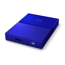 WD - My Passport 2TB External USB 3.0 Portable Hard Drive - Blue (WDBYFT0020BBL)