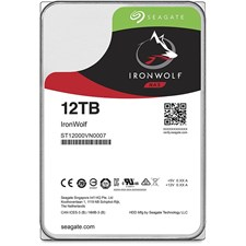 Seagate 12TB IronWolf NAS SATA 6Gb/s NCQ 3.5-Inch Internal Hard Drive (ST12000VN0007)