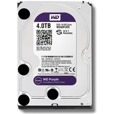 "Western Digital  WD Purple WD40PURX 4TB SATA 6.0Gb/s 3.5"" Surveillance Hard Drive"