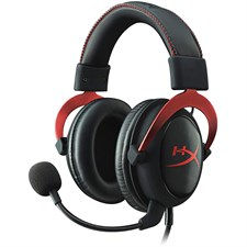 HyperX Cloud II Gaming Headset - 7.1 Surround Sound - KHX-HSCP-RD - Red