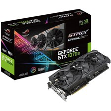 Asus ROG-STRIX-GTX1070TI-A8G-GAMING GeForce GTX 1070 Ti Advanced Edition GB GDDR5 Graphics Card