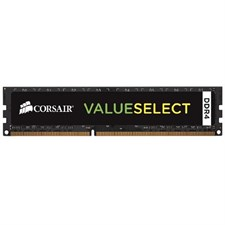 Corsair Value Select Memory — 4GB (1x4GB) DDR4 2133MHz CL15 DIMM (CMV4GX4M1A2133C15)