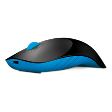 Alcatroz Air Shark Rechargeable USB Wireless Mouse 2.4GHz