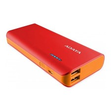 ADATA PT100 10000mAh Power Bank - Red