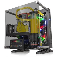 Thermaltake Core P1 TG Mini ITX Wall-Mount Chassis CA-1H9-00T1WN-00