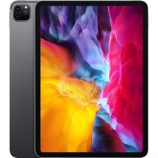 "Apple iPad Pro 11"" (2020), 128GB, Wi-Fi Only, Space Gray MY232LL/A, Silver MFR #MY252LL/A"