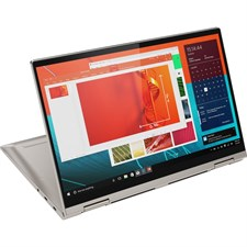 "Lenovo Yoga C740-14IML Laptop 10th Gen Ci5 10210U 8GB 256GB SSD 14"" FHD Touchscreen Backlit KB Windows 10 Intel UHD Graphics Mica Color 81TC000JUS"