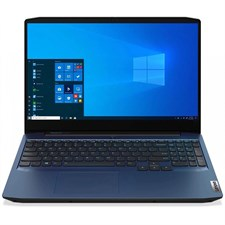 "Lenovo IdeaPad Gaming 3 Laptop AMD Ryzen 5 4600H, 16GB, 128GB SSD + 1TB HDD, NVIDIA GeForce GTX 1650 4GB, 15.6"" FHD IPS 120Hz, Backlit KB, Chameleon Blue (Official Warranty)"