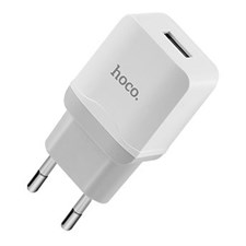 Hoco C22A Wall Charger + Lightning Charging Cable