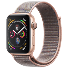 Apple Watch Series 4 MU692 Gold Aluminum Case with Pink Sand Sport Loop 40mm