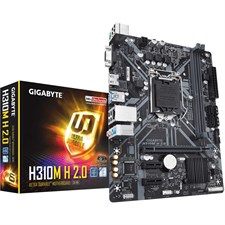 Gigabyte H310M H 2.0 Intel H310 Ultra Durable Motherboard