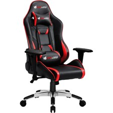 Warlord Phantom Gaming Chair - Black/Red