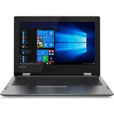 "Lenovo Yoga 330 (11) 2-in-1 Laptop - Intel Celeron N4000, 2GB, 32GB EMMC, 11.6"" Touchscreen x360, Windows 10, Mineral Grey"