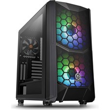 Thermaltake Commander C35 TG ARGB Edition Mid-tower Case With Tempered Glass CA-1N6-00M1WN-00