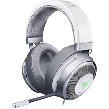 Razer Kraken 7.1 V2 Surround Sound Gaming Headset, Works with PC, PS4, Xbox One, Switch, & Mobile Devices - Mercury White