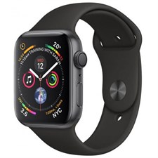 Apple iWatch Series 4 MU6D2 44mm Space Gray Aluminum Case With Black Sport Band