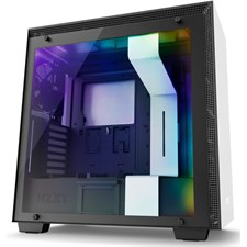 NZXT H700i CAM-powered Premium Mid-Tower Case  - Matte White