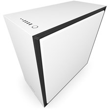 NZXT H700 Mid-Tower Case with Tempered Glass - Matte White