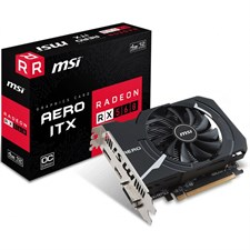 MSI Radeon RX 560 AERO ITX 4G OC Graphics Card, 4GB GDDR5 912-V809-2467