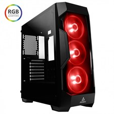 Antec DF500 RGB Dark Fleet Series Gaming Mid-Tower Casing With RGB Lighting