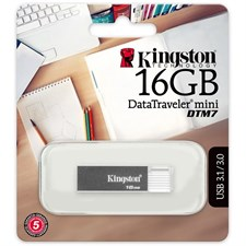 Kingston DataTraveler Mini DTM7 USB Flash Drive 16GB