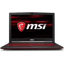 "MSI GL63 8RD Gaming Laptop - 8th Gen Ci7 8750H 8GB 1TB HDD + 128GB SSD 4GB Nvidia 1050ti GC 15.6"" FHD Backlit KB (2-Year MSI Local Warranty)"