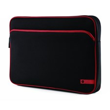 HP Laptop Sleeve, Black | Red Accent, VZ346AA