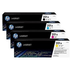 Hp 201a Toner Set Cf400a ,cf401a, Cf402a, Cf403a Black, Cyan, Yellow, Magenta Set