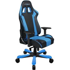 DXRacer King Series Gaming Chair GC-K06-NB-S1 (Black / Blue) (Free Next-Day Delivery for Karachi Only)