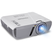 ViewSonic LightStream™ PJD5553LWS Short Throw Projector, 3,200 Lumens
