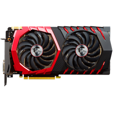 MSI Geforce GTX 1080 Gaming 8GB Video Graphics Card (Open Box)