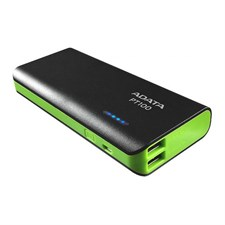 ADATA PT100 10000mAh Power Bank - Black