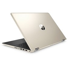"HP Pavilion x360 15-BR158CL, 8th Gen Ci7 8550U 8GB 1TB 2GB AMD Radeon 530 GC 15.6"" FHD IPS Convertible Touchscreen Backlit KB Win10 (Silk Gold)"