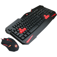 Redragon S101-2 Vajra Gaming Keyboard and Centrophorus Mouse M601 Combo