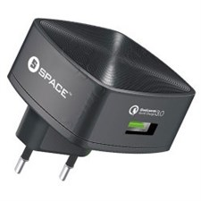 Space WC-130 3.0A Quick Charge Single Port Wall Charger