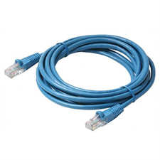 D-Link CAT5E Networking Cable UTP 24AWG Patch Cord, 3M NCB-5EUBLUR1-3