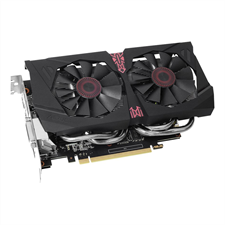 Asus STRIX-GTX1060-DC2O6G Strix GeForce GTX 1060 OC Edition 6GB Video Graphics Card, VR Ready