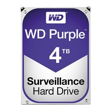 WD Purple 4TB Surveillance Hard Disk Drive - Intellipower SATA 6 Gb/s 64MB Cache 3.5 Inch - WD40PURZ