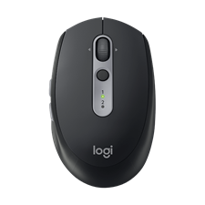 Logitech M590 Multi-Device Silent Wireless Mouse, 910-005203 Graphite Tonal