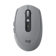 Logitech M590 Multi-Device Silent Wireless Mouse, 910-005204 Mid Grey Tonal