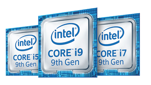 9th Gen Intel® Core™ family badge