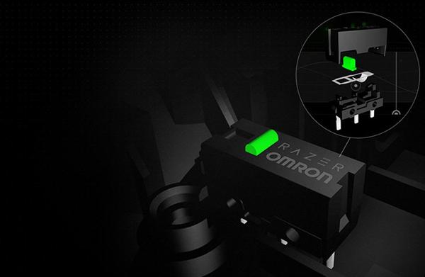 Gaming-optimized Razer™ Mechanical Mouse Switches